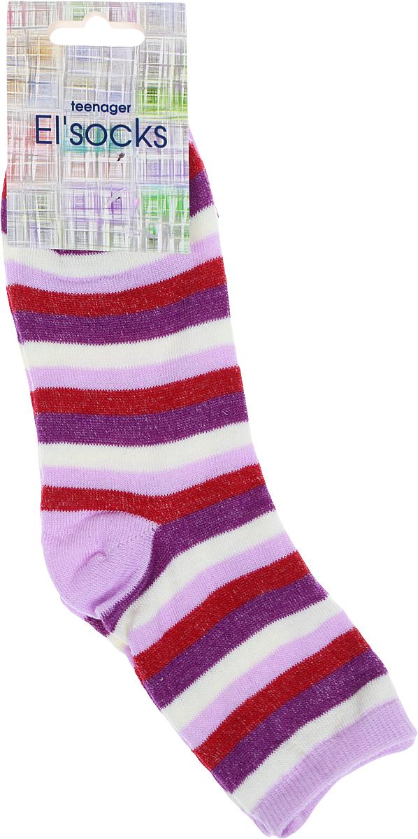 Носки подростковые Bio-Textiles, цвет: сиреневый. T112-2. Размер 34/40