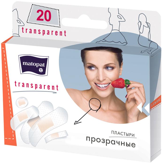 MATOPAT Пластырь Transparent, 20 шт цена