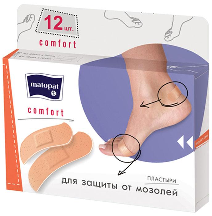 MATOPAT Пластырь Comfort, 12 шт цена