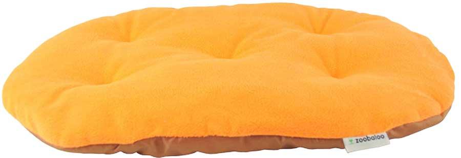 Лежанка для животных Zoobaloo Relax, цвет: оранжевый. Размер XL