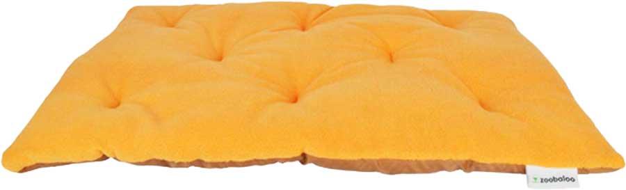 Лежанка для животных Zoobaloo Royal, цвет: оранжевый. Размер L