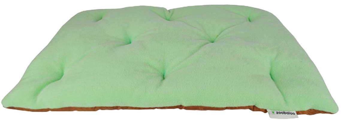 Лежанка для животных Zoobaloo Royal, цвет: ментоловый. Размер S