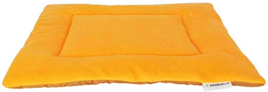 Лежанка для животных Zoobaloo Sport, цвет: оранжевый. Размер XL