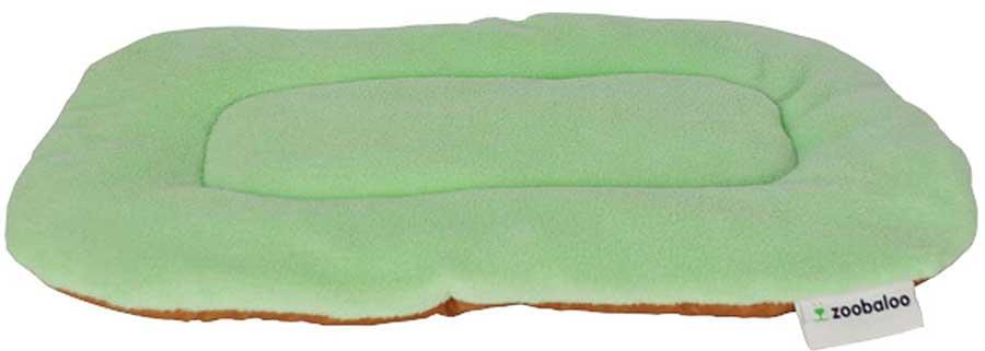 Лежанка для животных Zoobaloo Yoga, цвет: ментоловый. Размер L лежанка для животных добаз цвет светло розовый серый 65 х 65 х 20 см