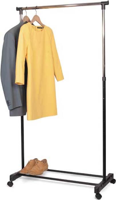 Стойка для одежды Tatkraft Mercury, передвижная на колесиках стойка для одежды и обуви tatkraft saturn 3 уровня на колесах с регулируемой шириной и высотой 84 121 5 x 42 5 x 113 198 см