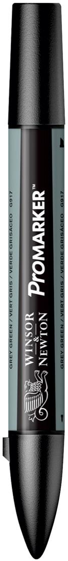 Winsor&Newton Маркер двухсторонний Promarker цвет: g917 зеленый сероватый акварель winsor