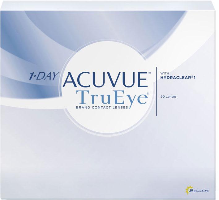 Johnson & Johnson Контактные линзы 1-Day Acuvue TruEye (90 шт. / 8.5 / - 5.25)