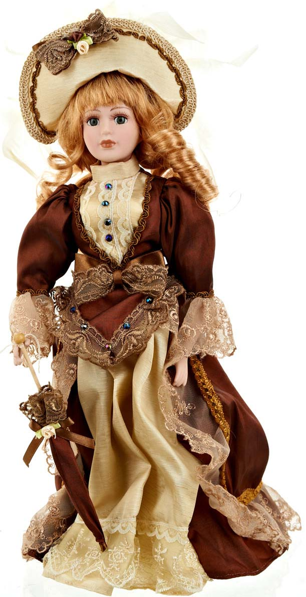 Кукла коллекционная ArtHouse Елизавета, высота 36,5 см
