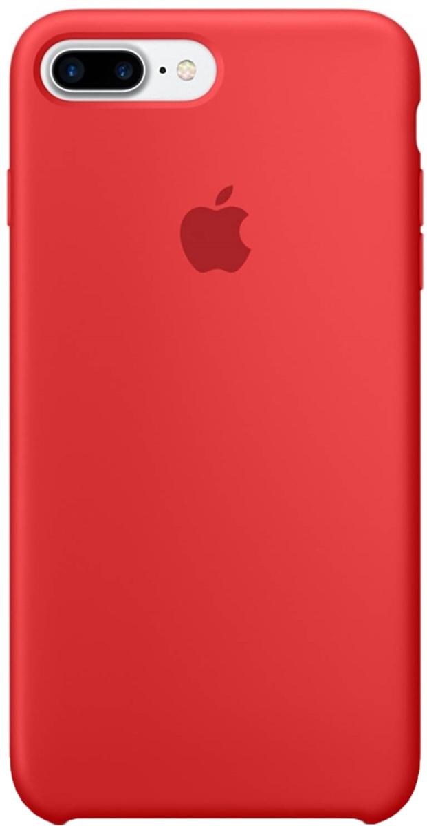 Apple Silicone Case чехол для iPhone 7 Plus/8 Plus, Red Raspberry цены