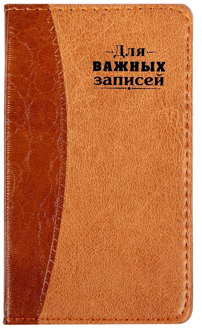 Записная книжка Для важных записей 60 листов в линейку записная книжка art blanc tissou 8 5х16 см 96 листов