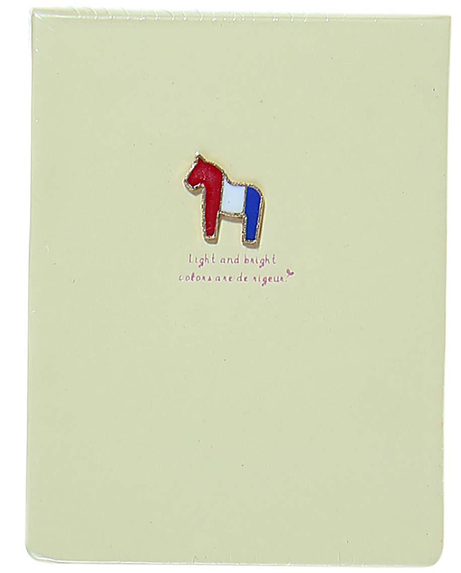 Блокнот 128 листов без разметки цвет бежевый