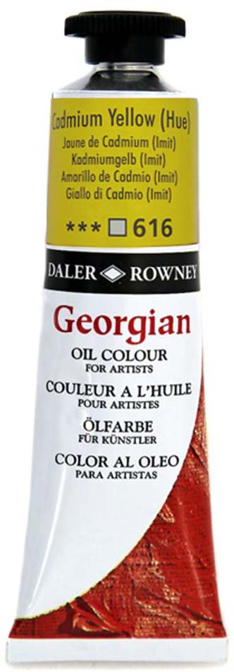 Daler Rowney Краска масляная Georgian цвет кадмий желтый (имитация) 38 мл