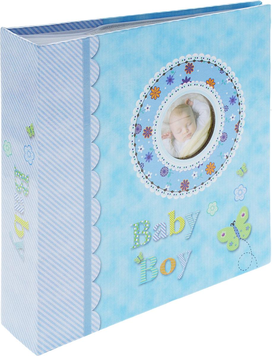 Фотоальбом Platinum Детский альбом-6, 200 фотографий, цвет: голубой, 10 х 15 см фотоальбом platinum соцветие 200 фотографий 10 х 15 см