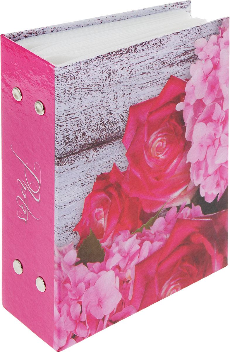 """Фотоальбом Platinum """"Соцветие"""" имеет пластиковые листы с заклепками.Характеристики: Кол-во фотографий: 100Размер фотографии: 10 х 15 см."""