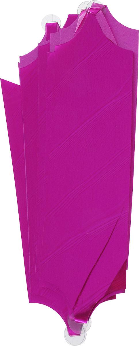 Бант упаковочный Veld-Co Шар, цвет: розовый, 5 х 148 см, 10 шт набор упакокочных лент veld co цвет разноцветный 0 5 см х 4 м 6 шт
