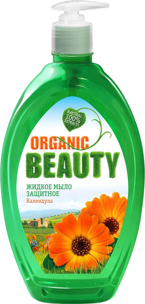 Organic Beauty Мыло жидкое Защитное, 500 мл organic beauty