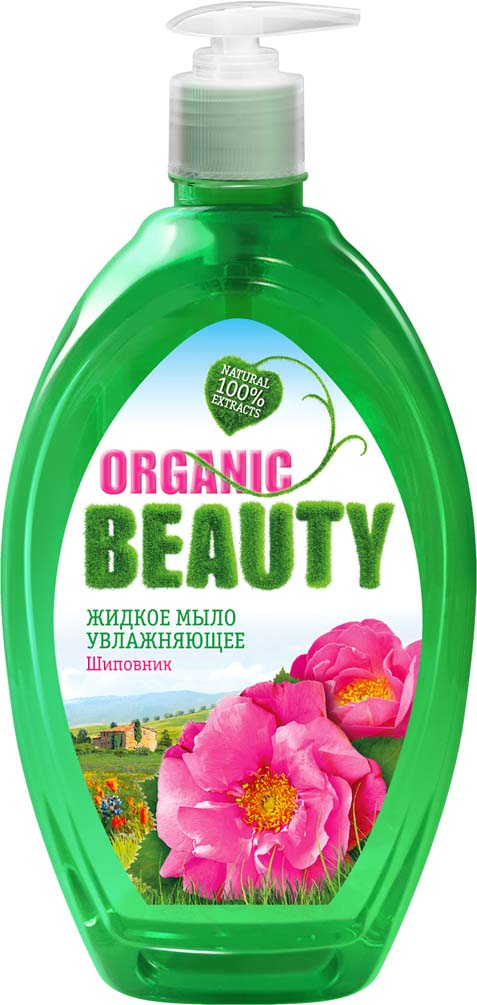 Organic Beauty Мыло жидкое Увлажняющее, 500 мл