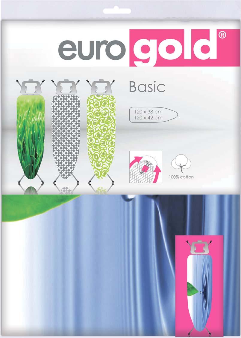 Чехол для гладильной доски Eurogold Basic, размер M. DC42DC42Чехол для гладильной доски Eurogold Basic DC42 (M)