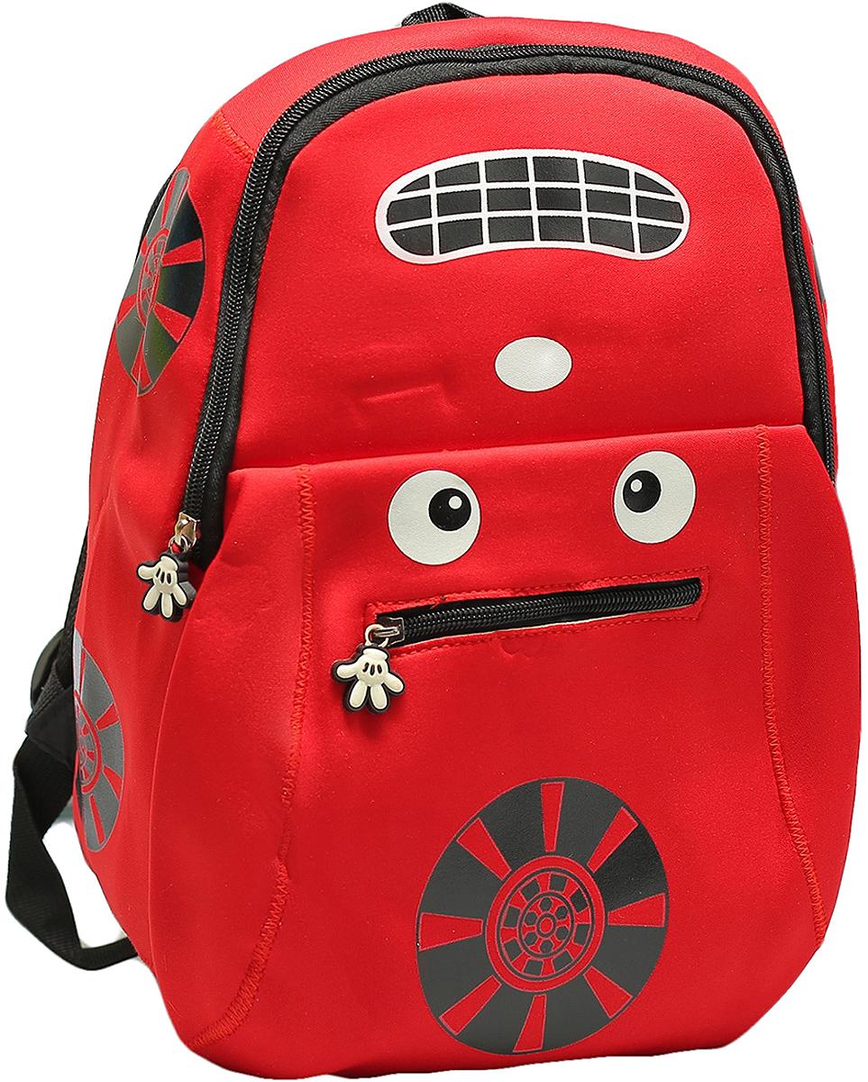 Рюкзак детский Авто цвет красный 1653874