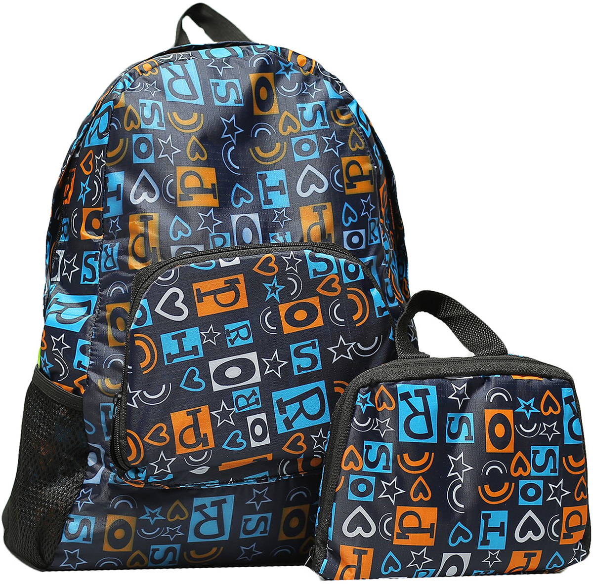 Рюкзак детский Буквы цвет синий 2826147, NoName