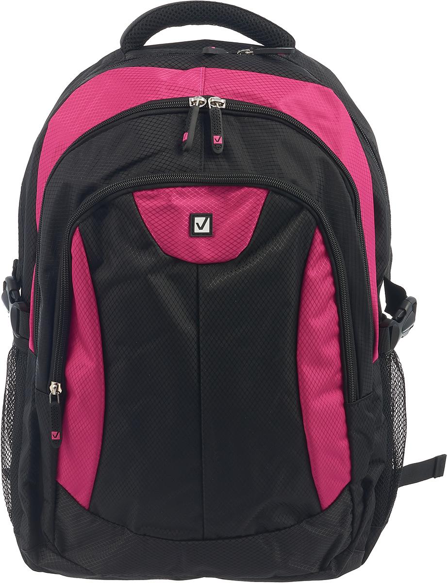 все цены на Brauberg Рюкзак Пурпур цвет черный фуксия онлайн