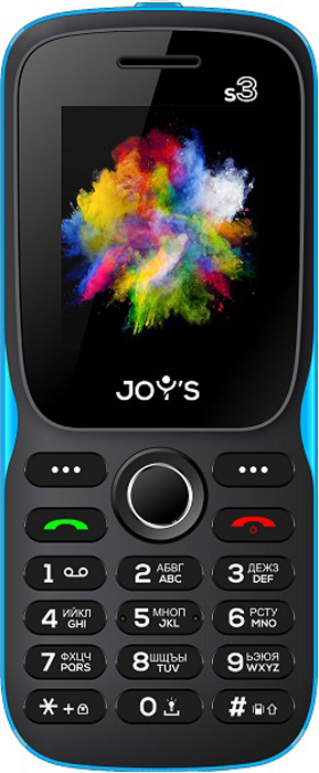 Joys S3 DS, Black Blue