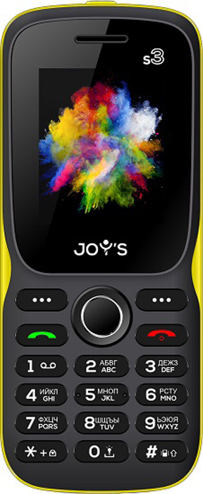 Joys S3 DS, Black Yellow