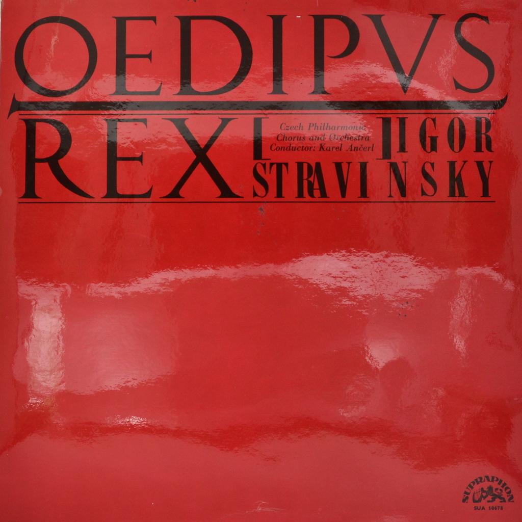 Игорь Стравинский Igor Stravinsky. Oedipus Rex (LP) царь эдип 2018 10 06t19 00