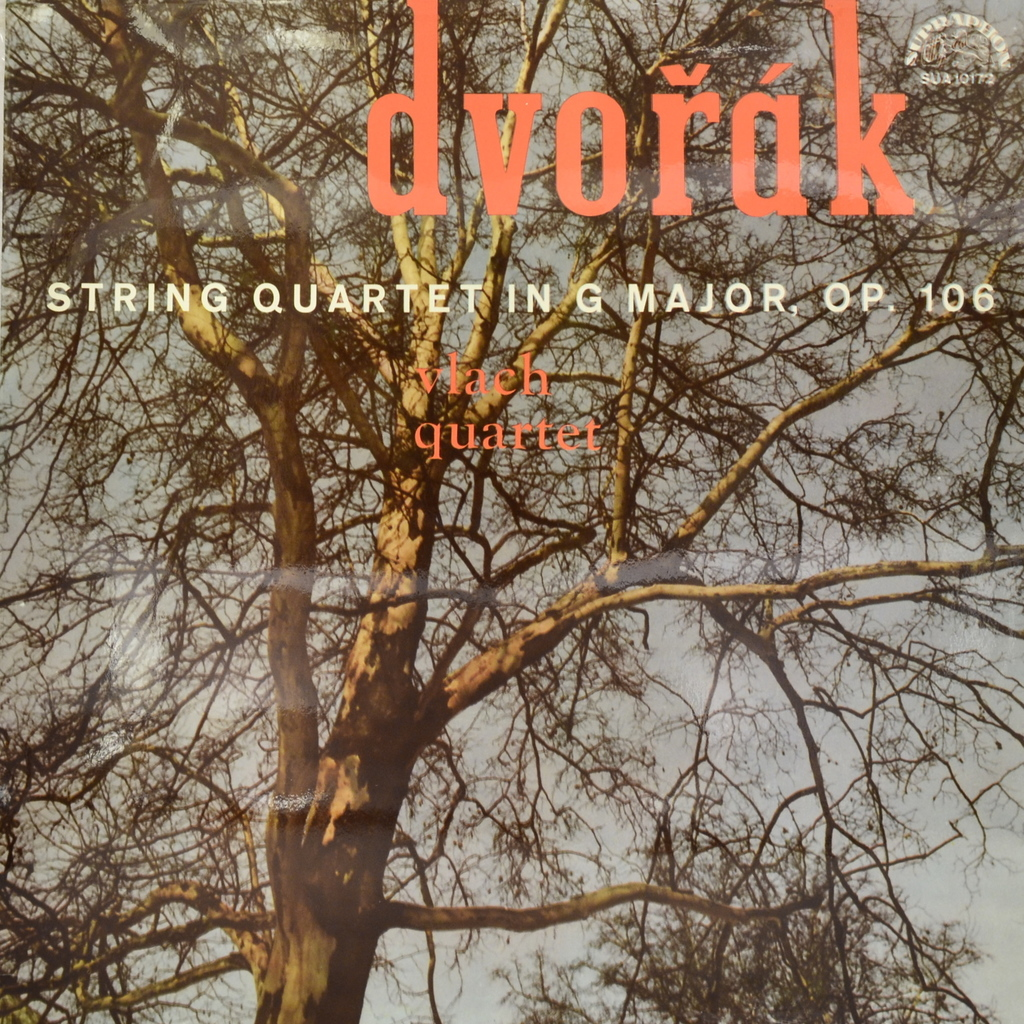 Антонин Дворжак Antonin Dvorak, Vlach Quartet. String Quartet In G Major, Op. 106 (LP) orlando quartet orlando quartet haydn string quartets op 76 nos 4