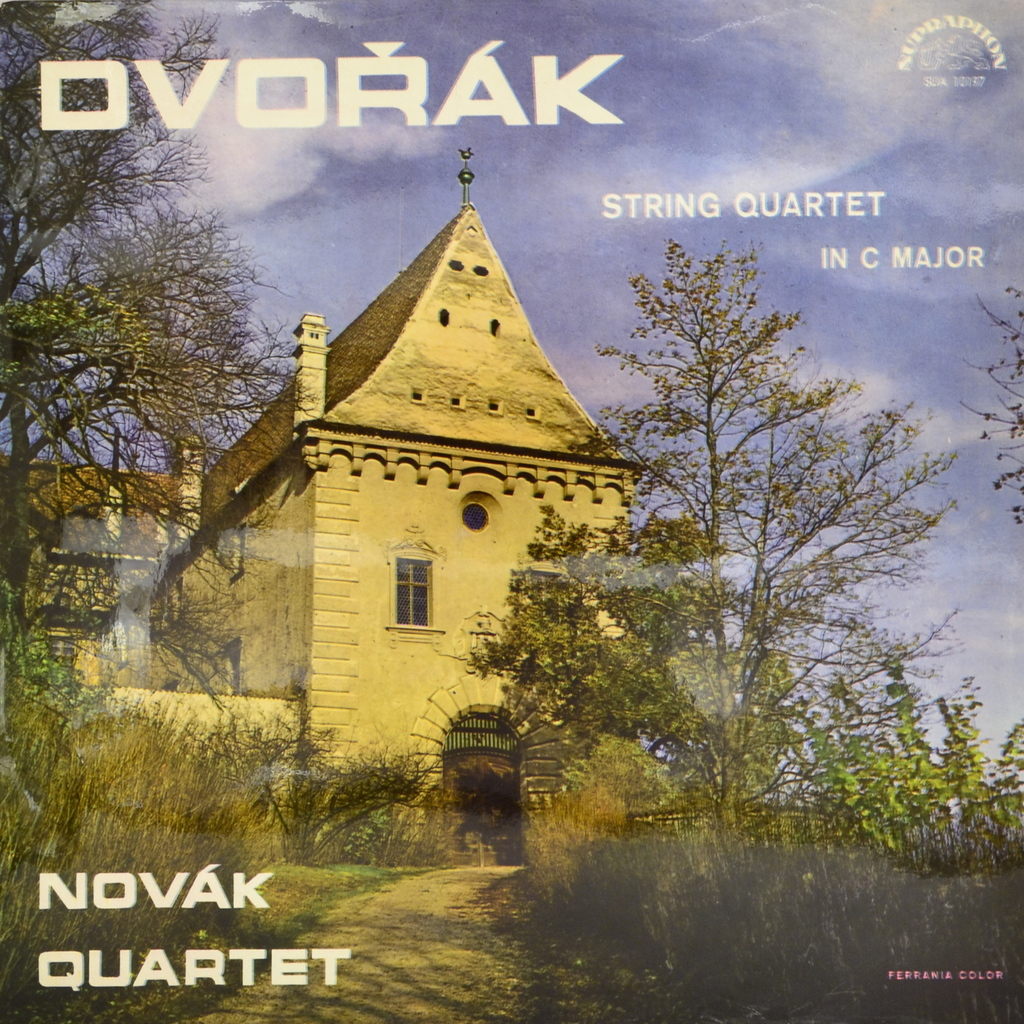 Dvorak, Novak Quartet. String Quartet In C Major (LP) антонин дворжак antonin dvorak vlach quartet string quartet in g major op 106 lp