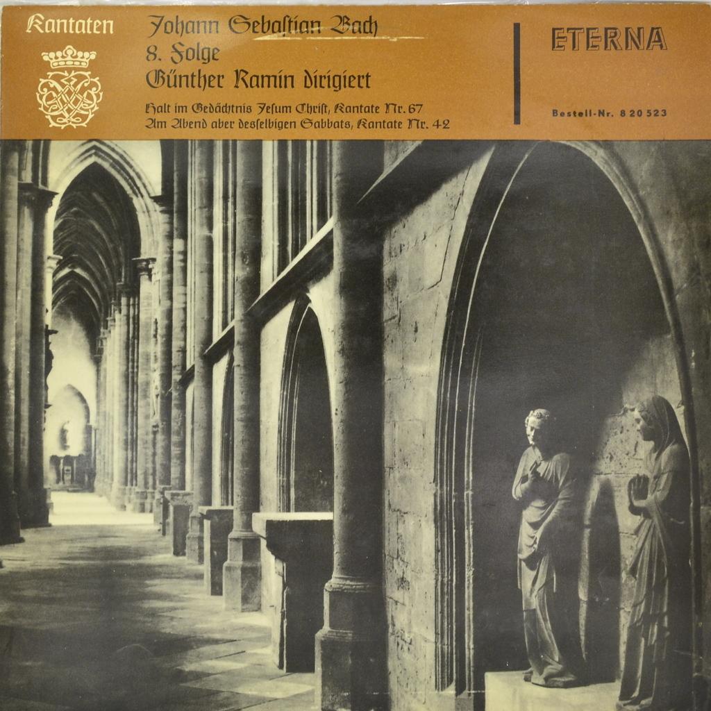 Zakazat.ru Johann Sebastian Bach, Gunther Ramin. Kantaten 8. Folge (LP)