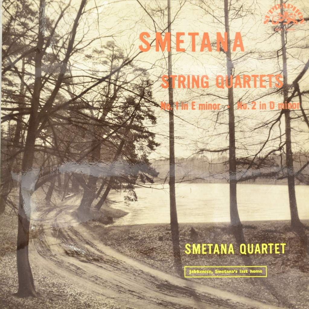 Smetana, Smetana Quartet. String Quartets (LP) антонин дворжак antonin dvorak vlach quartet string quartet in g major op 106 lp
