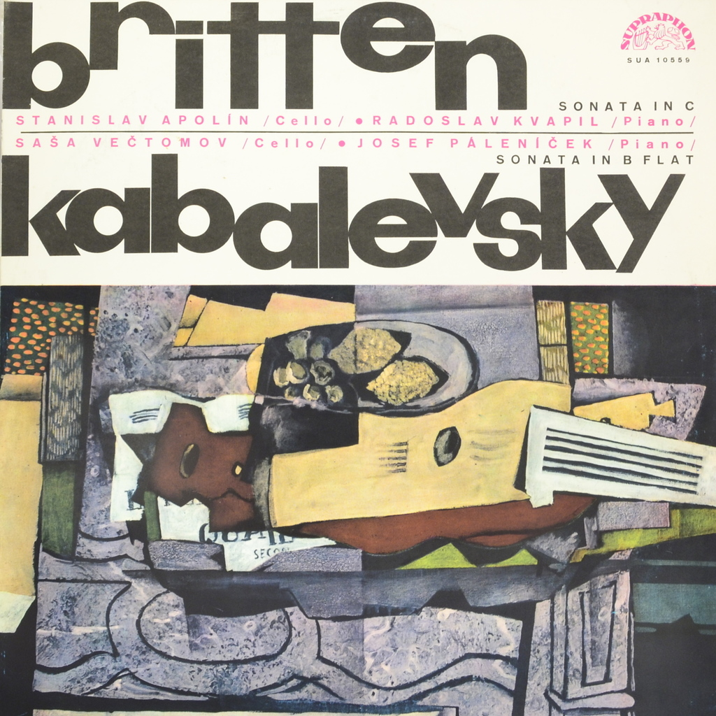 Britten. Kabalevsky. Sonata In C. Sonata In B Flat (LP) wholesale manufacturers 17 key bakelite clarinet in b flat surface pink