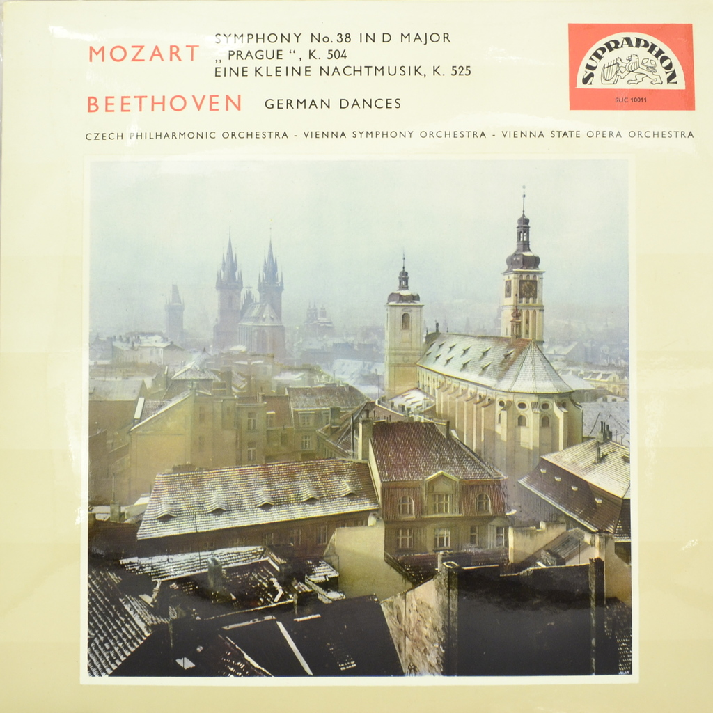Mozart, Beethoven. Symphony No.38/German Dances (LP) mozart haydn and early beethoven – 1781–1802