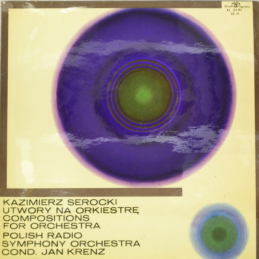 Kazimierz Serocki. Utwory Na Orkiestre - Compositions For Orchestra (LP)