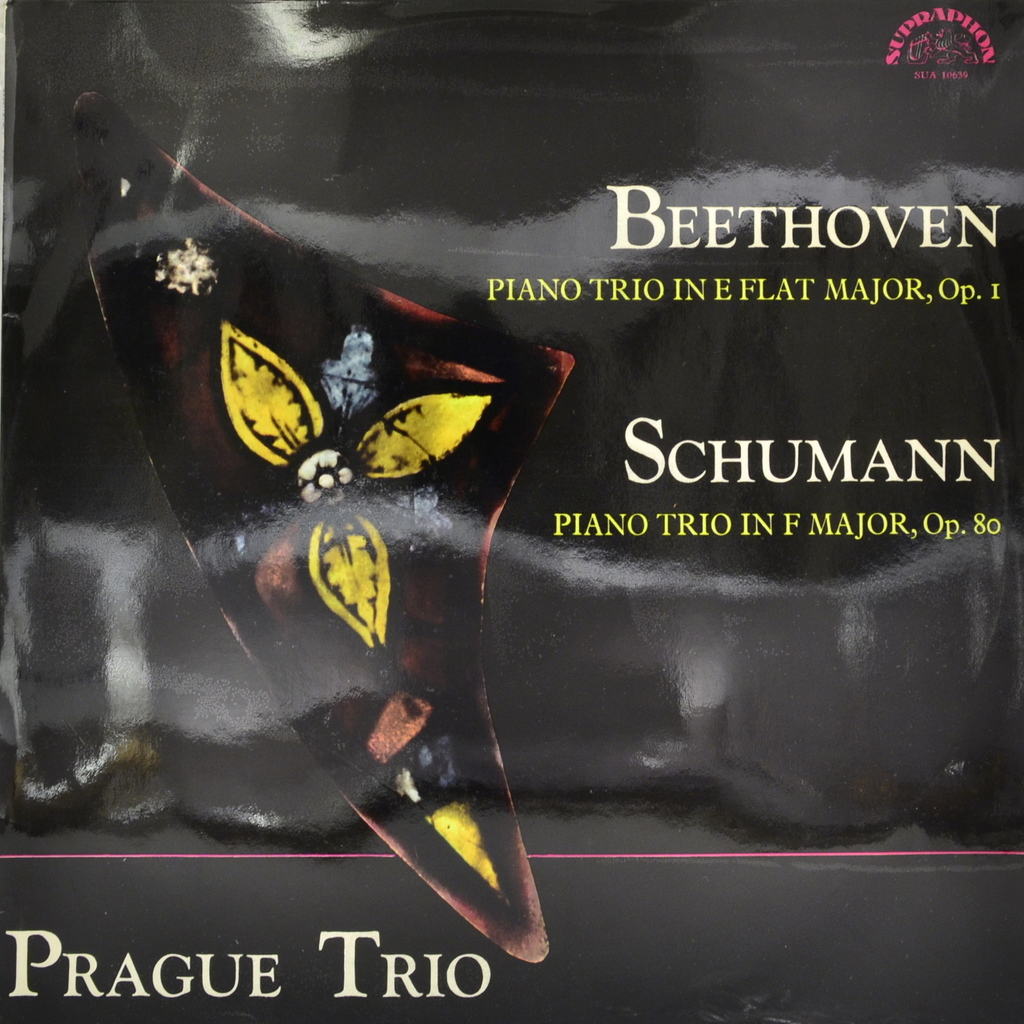 Beethoven, Schumann, Prague Trio. Piano Trio In E Flat Major, Op. 1. Piano Trio In F Major, Op. 80 (LP) yevgeny kissin evgeny kissin beethoven 3 lp