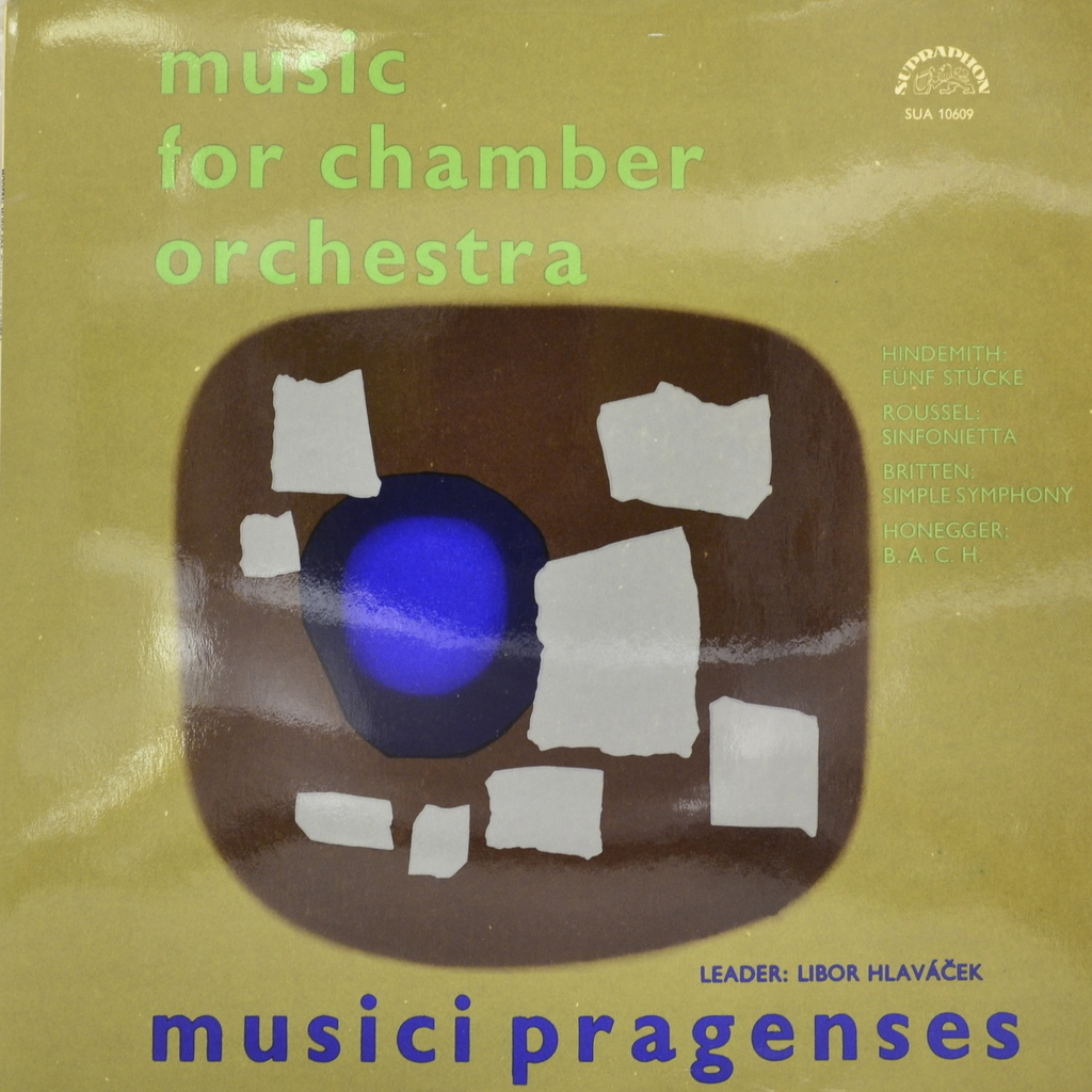 Zakazat.ru Musici Pragenses. Music For Chamber Orchestra (LP)