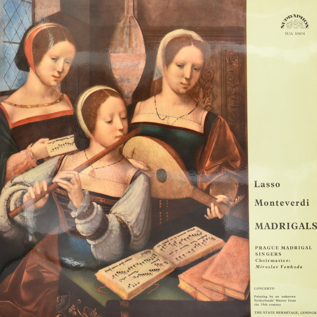Prague Madrigal Singers. Madrigals (LP) смеситель kaiser carlson 11077