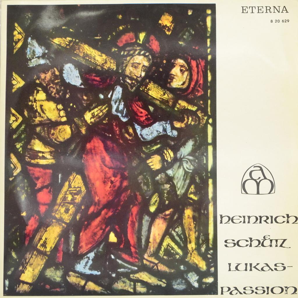 Генрих Шутц Heinrich Schutz - Dresdner Kreuzchor, Dirigent Rudolf Mauersberger. Lukas-Passion (LP)