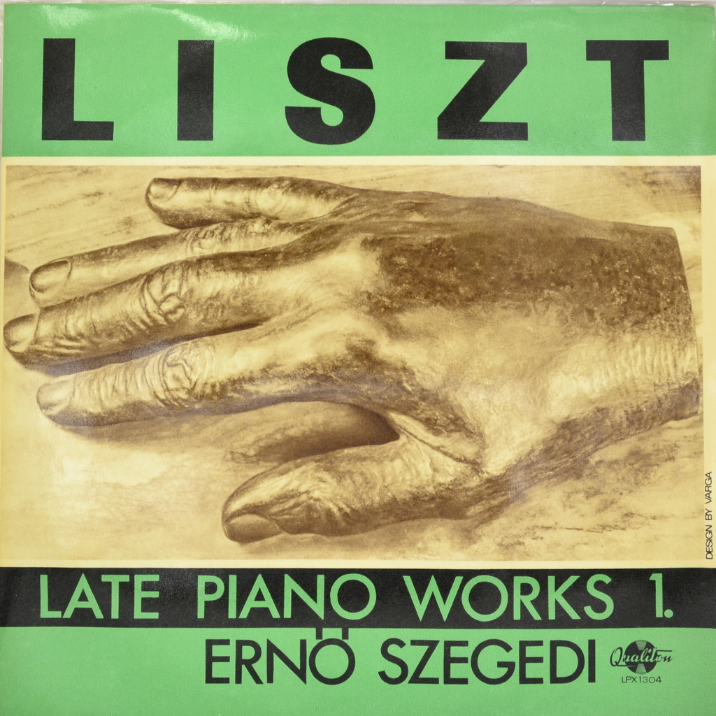 Liszt, Erno Szegedi. Late Piano Works 1 (LP) хорхе болетт jorge bolet liszt piano music 9 cd