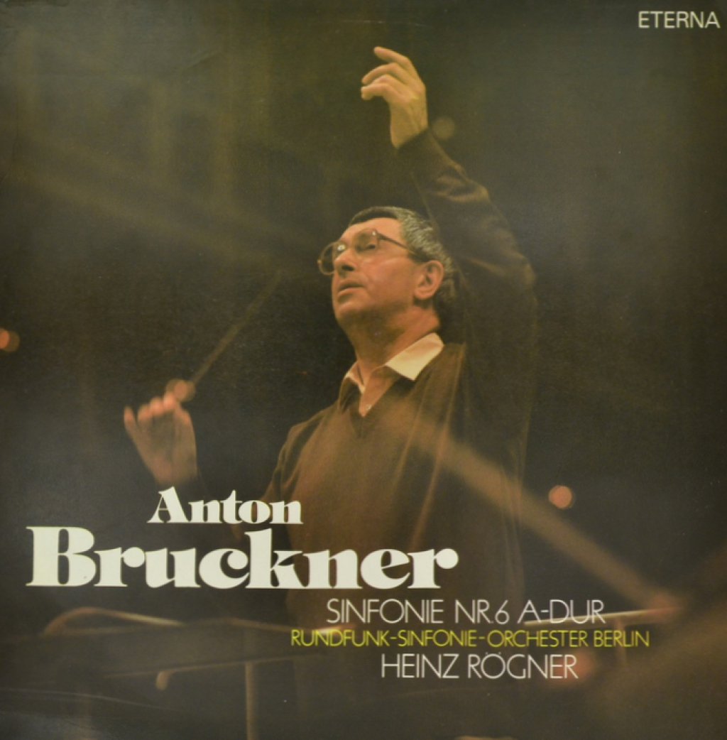 Rundfunk Synfonieorchester Berlin Bruckner - Rundfunk-Sinfonieorchester Berlin. Sinfonie Nr.6 A-dur (LP) hrvy berlin
