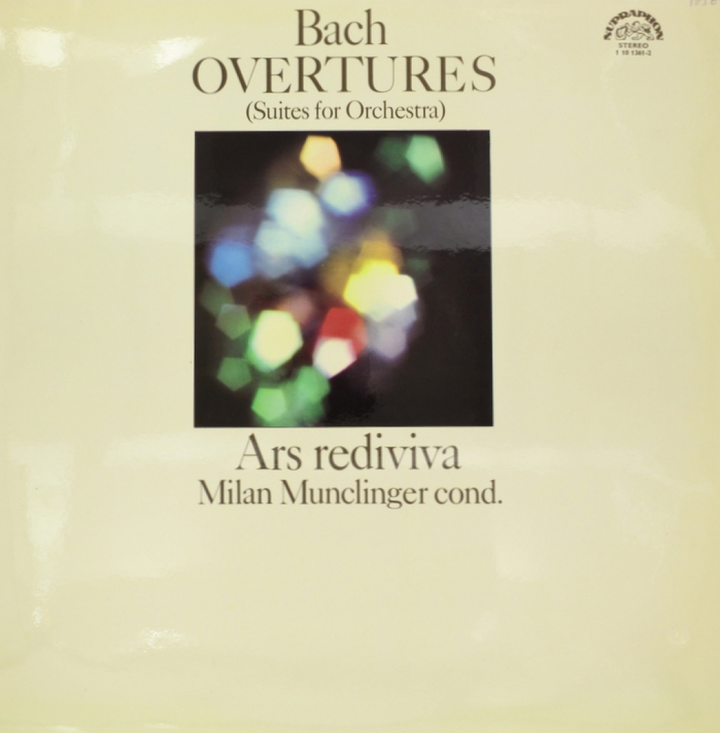 Bach, Ars Rediviva, Milan Munclinger. Overtures (Suites For Orchestra) (LP) мюррей перайа murray perahia bach english suites