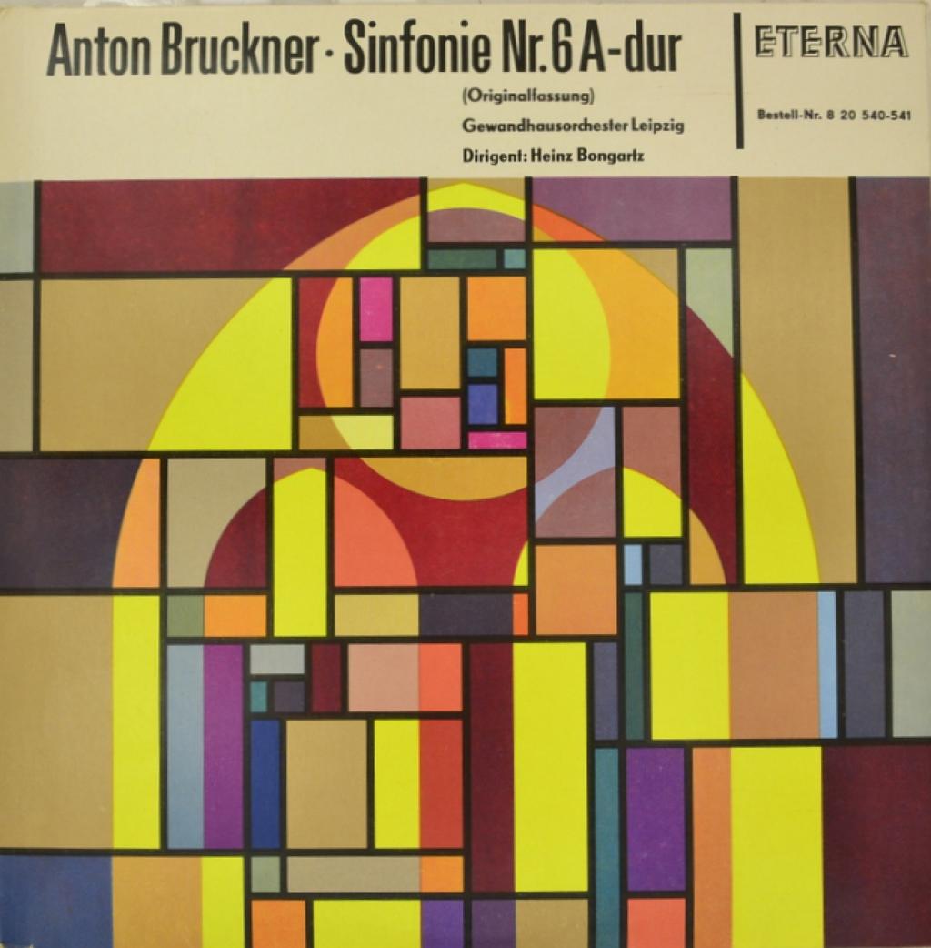 Антон Брукнер Anton Bruckner, Gewandhausorchester Leipzig, Heinz Bongartz. Sinfonie Nr. 6 A-Dur (Originalfassung) (2 LP) farid leipzig