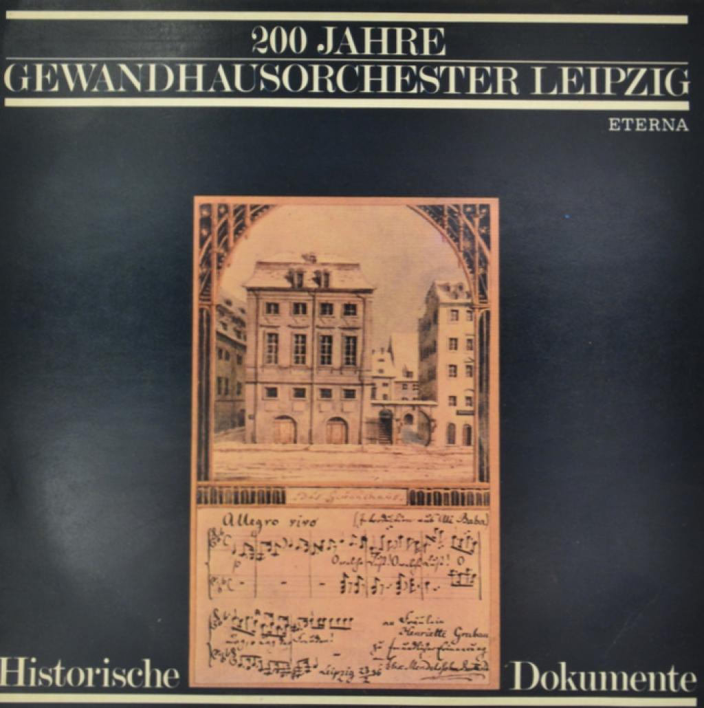 Gewandhausorchester Leipzig Gewandhausorchester Leipzig. 200 Jahre Gewandhausorchester Leipzig (LP)