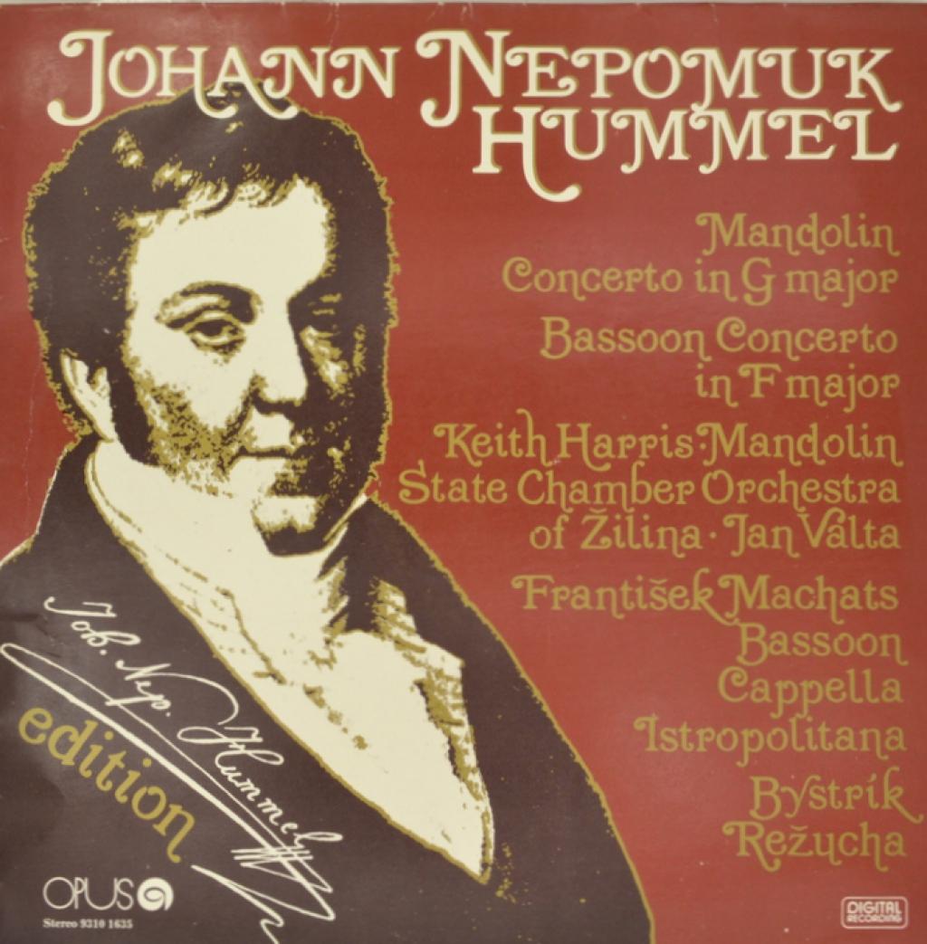 Hummel. Johann Nepomuk Hummel (LP)
