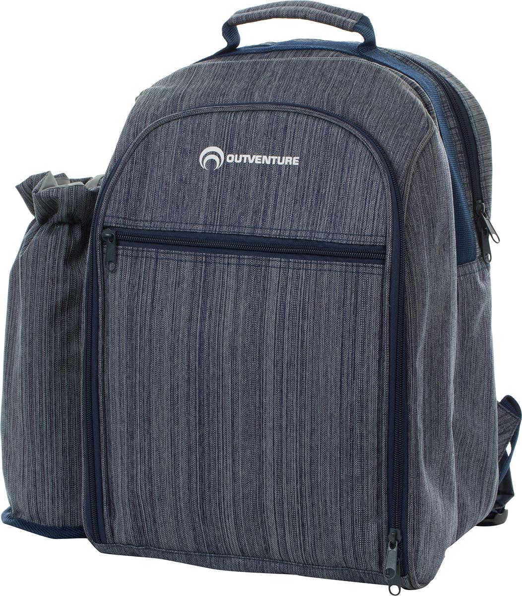 Рюкзак пикниковый Outventure Picnic Backpack, с аксессуарами на 4 персоны
