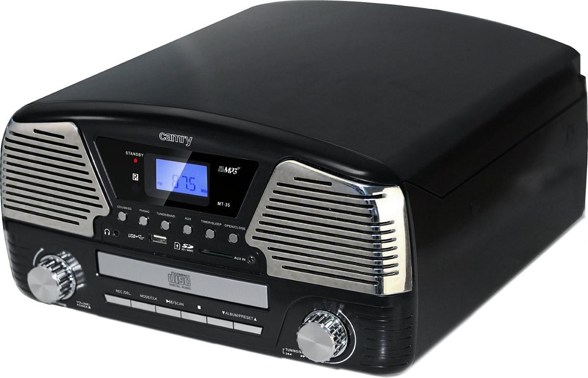 Camry CR1134, Black ретро радио-проигрыватель