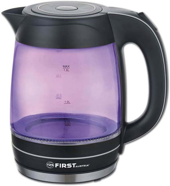 First FA-5405-3-PU, Purple Black чайник электрический блендер first fa 5290 3 purple