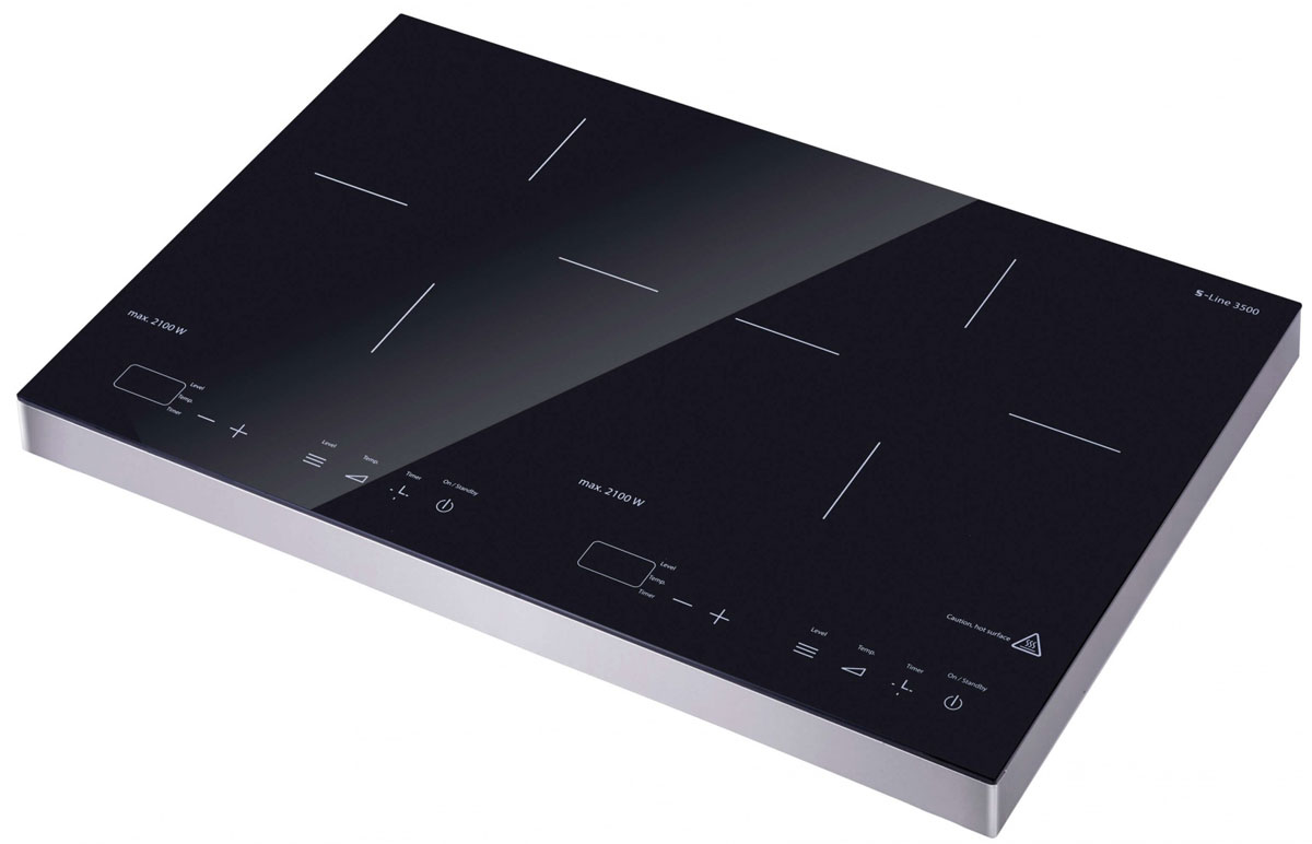 Gemlux GL-IP991LUX, Silver Black плита настольная индукционная