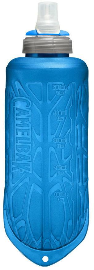 Мягкая ультралёгкая и компактная фляжка для воды и гелей из запатентованного безопасного материала. Без BPA, BPS, BPF. Не влияет на вкус и запах. Уникальный клапан из медицинского силикона с регулировкой подачи жидкости. Мягкий корпус - легко сжимать. Отметки объёма - легко контролировать содержимое. Стерильное производство - можно купить и сразу заправить водой! Есть вариант с термоизоляцией для жаркой погоды. Удобна для поясных и наручных сумочек, жилетов и передних/поясных кармашков рюкзаков.